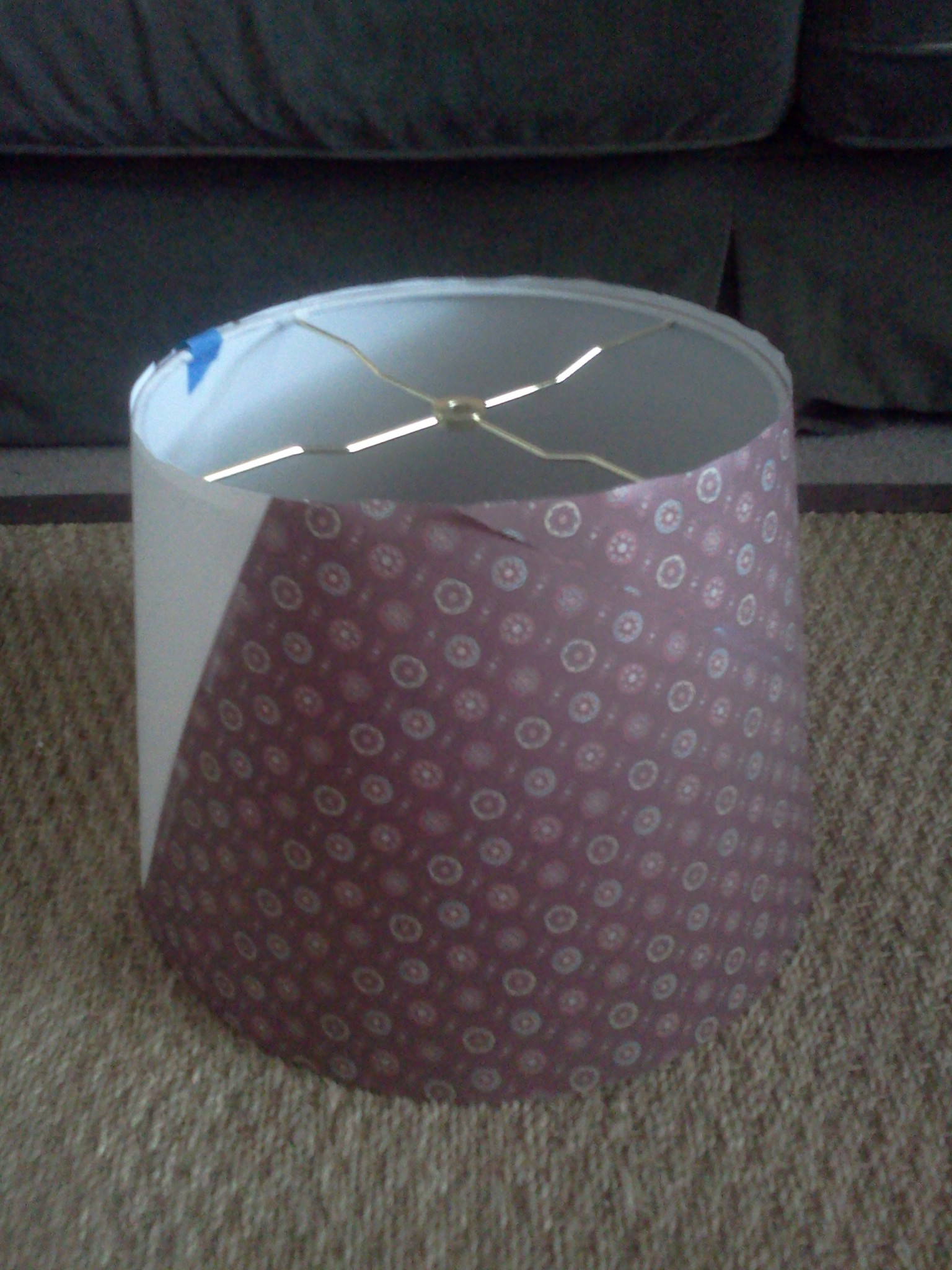 how to make lampshade template suitepotato