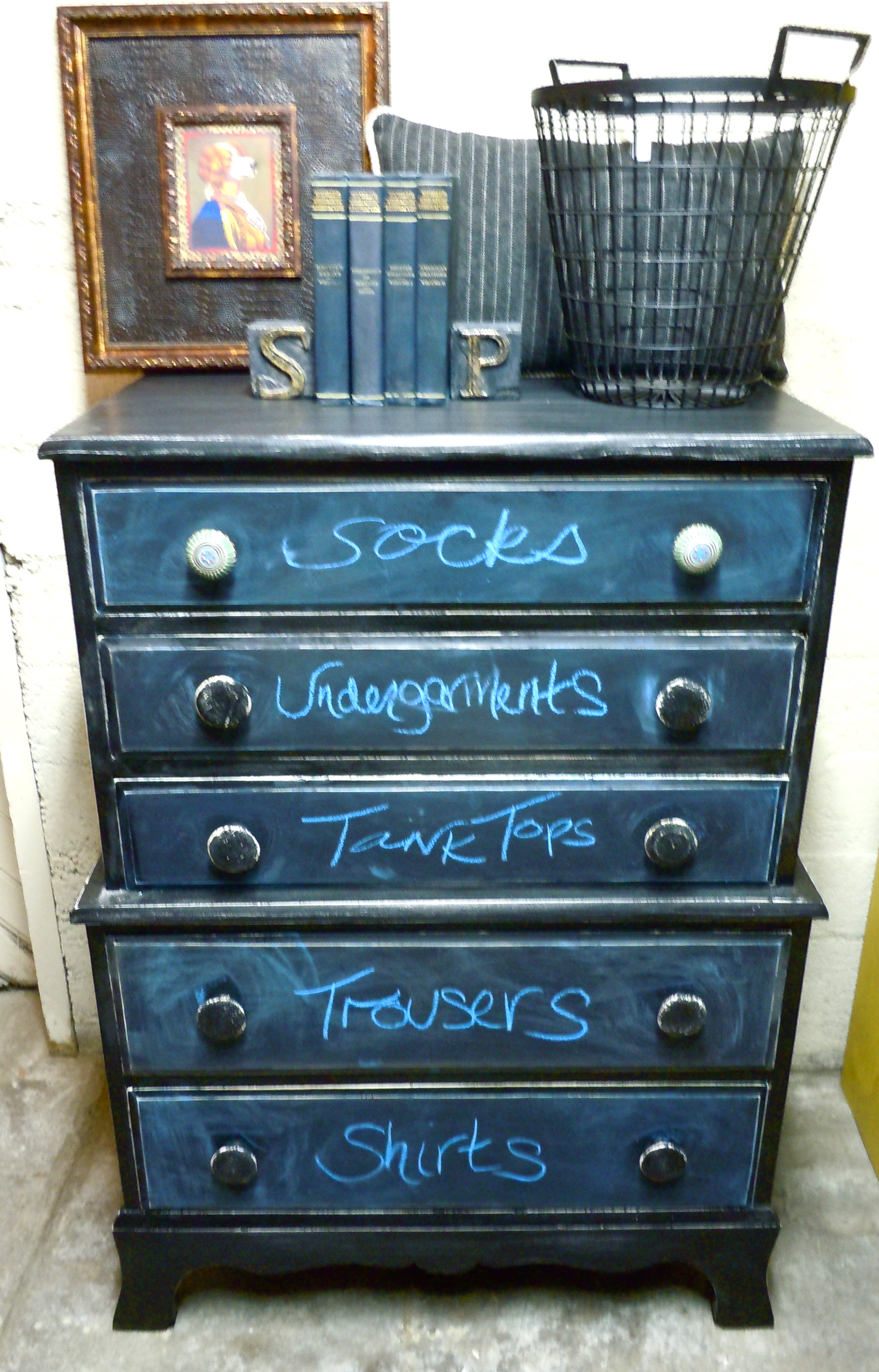 Painted Dresser In Gloss Paint