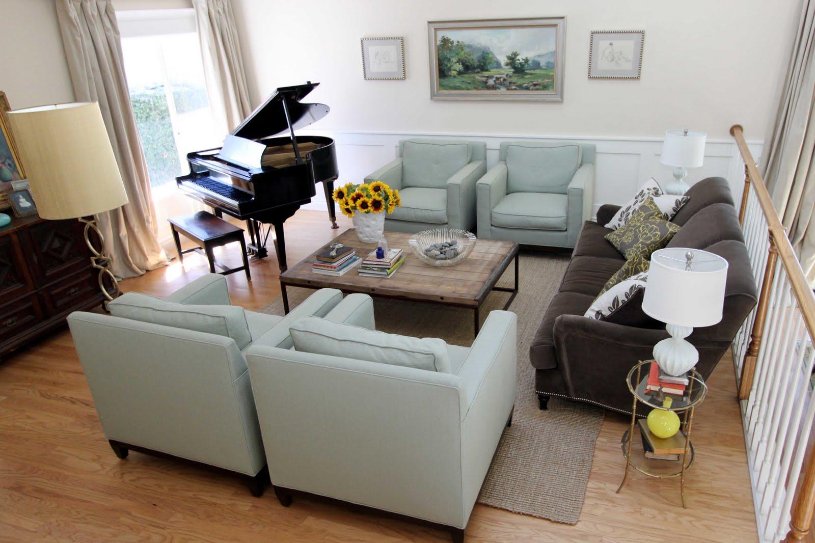 Restoration hardware inspired living room - Sf Interior Design